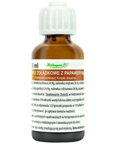 Krople żołądkowe z papaweryną 35 ml
