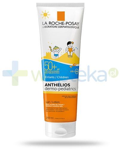 La Roche Anthelios Dermo-Pediatrics SPF50+ mleczko do ciała dla dzieci 250 ml + Posthelios kojący żel po opalaniu 40ml [GRATIS]