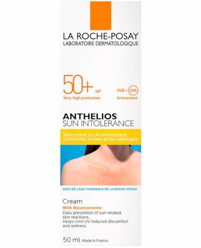 La Roche Anthelios Sun Intolerance SPF50+ kojący krem z neurosensyną 50 ml