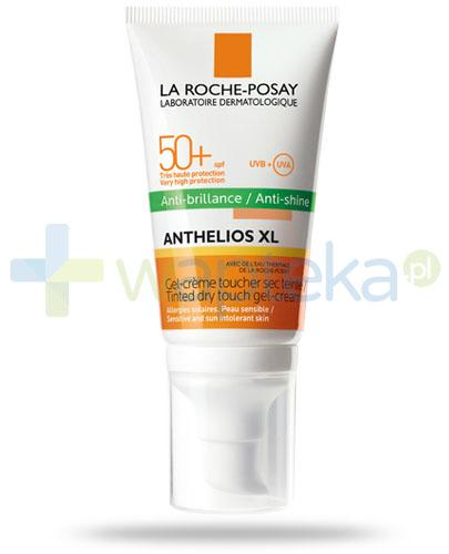 La Roche Anthelios XL SPF50+ barwiący żel-krem do twarzy suchy w dotyku 50 ml + My UV Patch GRATIS
