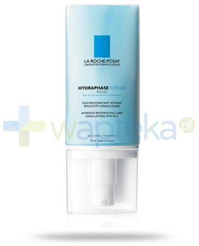 La Roche Posay Hydraphase Intense Riche krem intensywnie nawilżający o długotrwałym działaniu skóra wrażliwa i odwodniona 50 ml