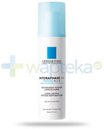 La Roche Hydraphase Intense UV Riche krem intensywnie nawilżający o długotrwałym działaniu 50 ml