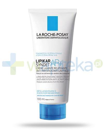 La Roche Lipikar Syndet AP+ krem myjący uzupełniający poziom lipidów, przeciw podrażnieniom i swędzeniu skóry 100 ml
