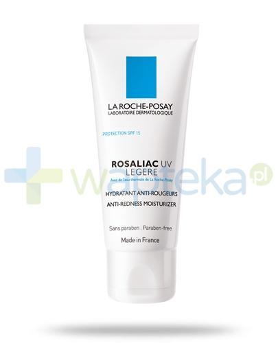 La Roche Rosaliac UV Legere wzmacniający krem nawilżający do skóry naczynkowej 40 ml