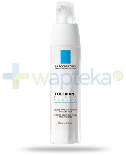 La Roche Posay Toleriane Ultra Fluid intensywna pielęgnacja kojąca do twarzy i pod oczy 40 ml