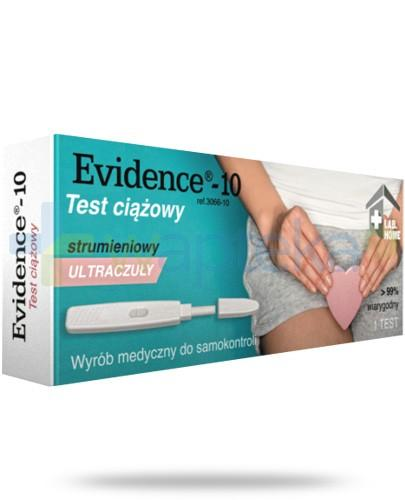 VedaLab Evidence-10 test ciążowy strumieniowy ultraczuły 1 sztuka