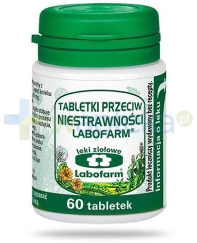 Labofarm tabletki przeciw niestrawności 60 sztuk