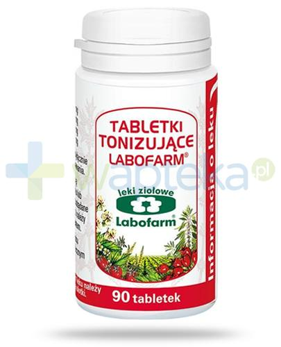 Labofarm tabletki tonizujące 90 sztuk