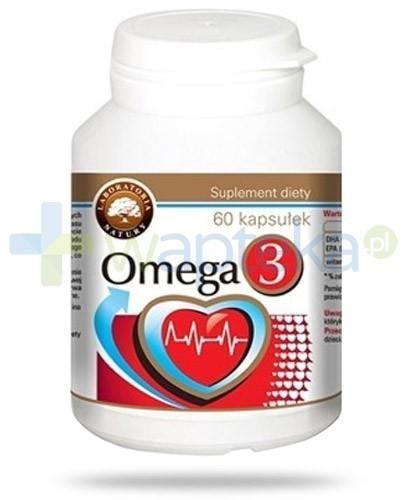 Labolatoria Natury Omega-3 60 kapsułek