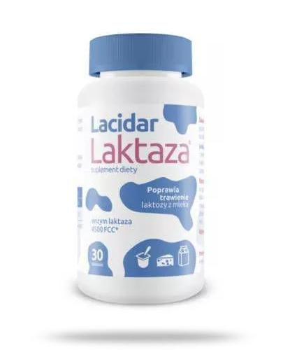 Lacidar Laktaza 30 tabletek