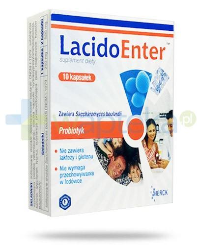 LacidoEnter probiotyk 10 kapsułek