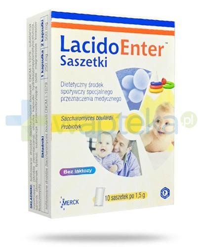 LacidoEnter probiotyk 10 saszetek