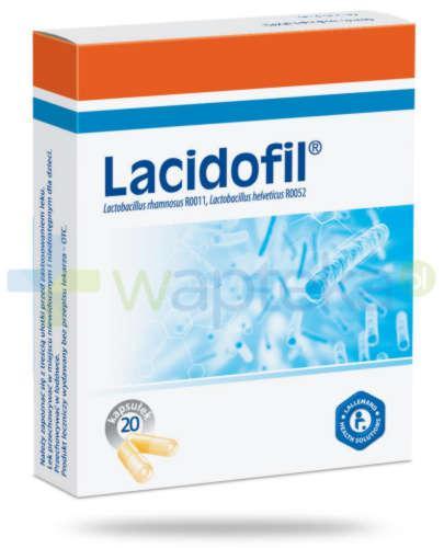 Lacidofil probiotyk 20 kapsułek