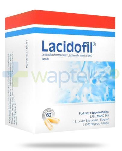 Lacidofil probiotyk 60 kapsułek
