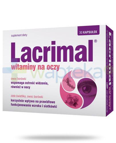 Lacrimal witaminy na oczy 30 kapsułek