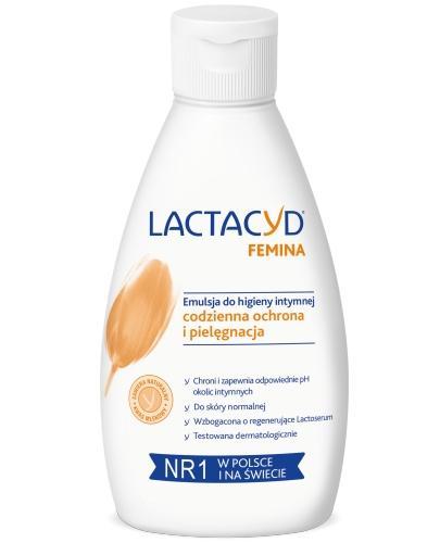 Lactacyd Femina emulsja bez pompki do higieny intymnej 200 ml