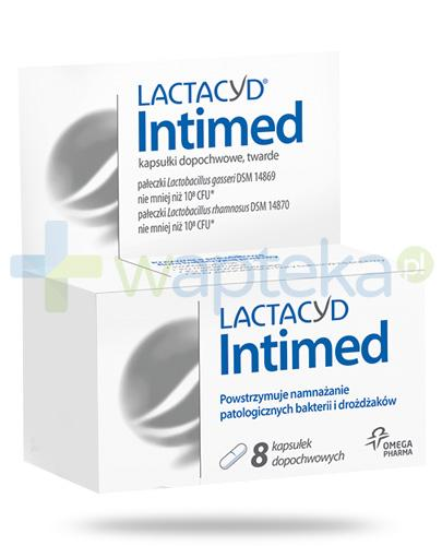 Lactacyd Intimed kapsułki dopochwowe 8 sztuk