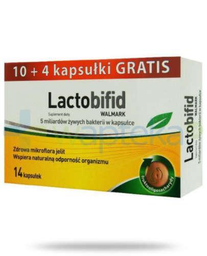 Lactobifid 10 kapsułek + 4 kapsułki Gratis