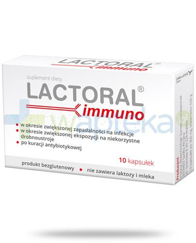 Lactoral Immuno 10 kapsułek
