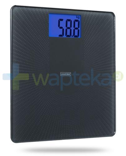 Lanaform PDS 110 AS, waga elektroniczna, kolor czarny 1 sztuka