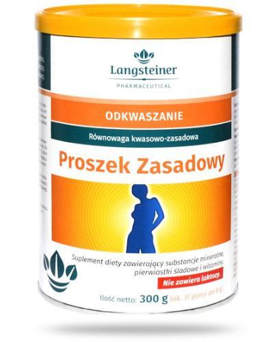 Langsteiner Odkwaszanie Proszek zasadowy 300 g