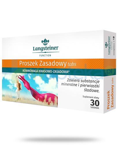 Langsteiner Proszek zasadowy Tabs 30 tabletek