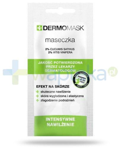 Lbiotica DermoMask Intensywne nawilżenie maseczka do twarzy 10 ml