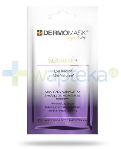 Lbiotica DermoMask Night Active Mezoterapia maseczka naprawcza stymulująca cykl nocnej odnowy komórkowej 12 ml
