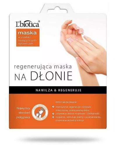 Lbiotica maska regenerująca na dłonie 26 g