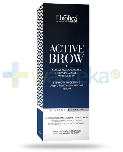 Lbiotica Professional Therapy ActiveBrow serum zagęszczające i przyspieszające wzrostbrwi 3,5 ml