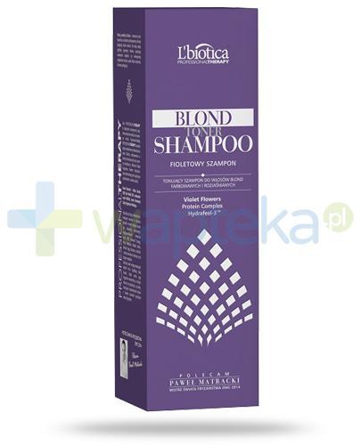 Lbiotica Professional Therapy Blond Toner tonujący szampon do włosów blond, farbowanych i rozjaśnianych 250 ml