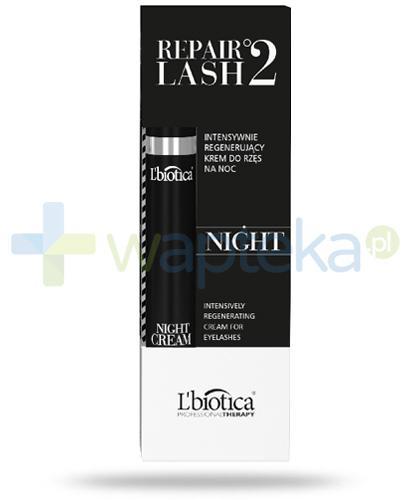 Lbiotica Repair Lash °2 Night intensywnie regenerujący krem do rzęs na noc 7 ml