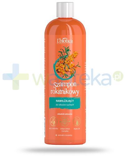 Lbiotica Vita Organica szampon rokitnikowy nawilżający do włosów suchych 380 ml