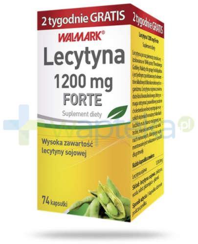 Lecytyna 1200 mg Forte 74 kapsułki
