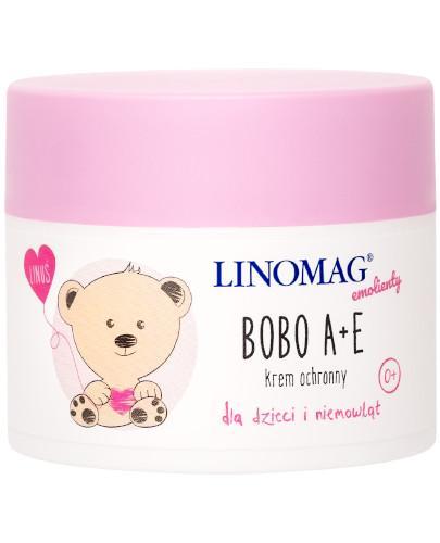 Linomag Bobo A+E krem ochronny dla dzieci i niemowląt od 1. dnia życia 50 ml