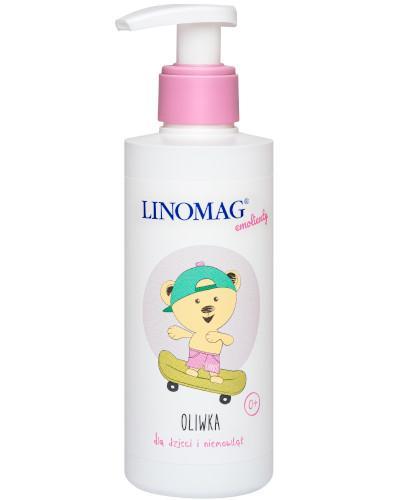 Linomag oliwka do codziennej pielęgnacji skóry dzieci i niemowląt od 1-go dnia życia 200 ml