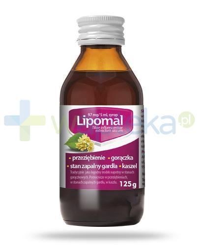 Lipomal syrop po 1 roku życia 125 g