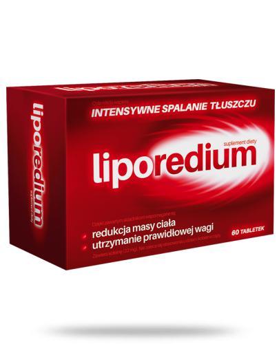 LipoRedium intensywne spalanie tłuszczu 60 tabletek