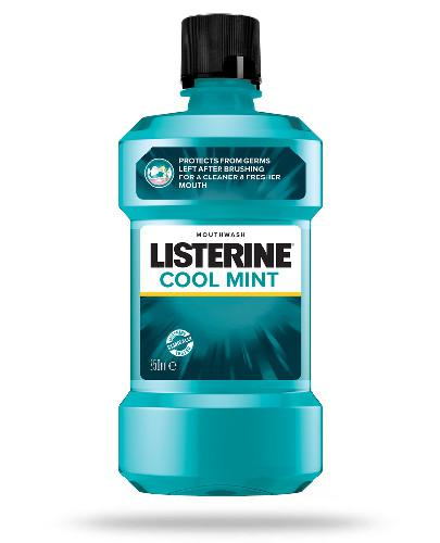 Listerine Cool Mint płyn do płukania jamy ustnej 250 ml