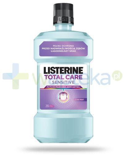 Listerine Total Care Sensitive płyn do płukania jamy ustnej 250 ml
