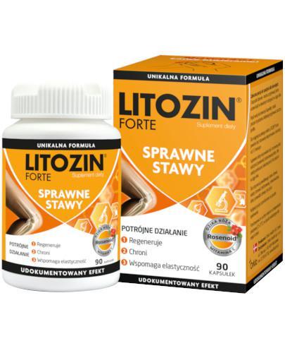 Litozin Forte na sprawne stawy 90 kapsułek