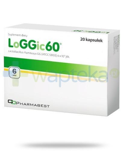 LoGGic60 probiotyk 20 kapsułek