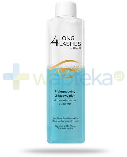 Long 4 Lashes płyn 2-fazowy pielęgnacyjny z biotyną do demakijażu oczu 250 ml