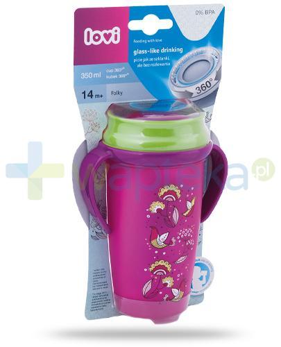 Lovi Folky 360°  kubek dla dzieci 14m+ 350 ml [1/575_new]