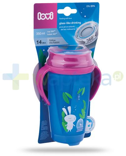 Lovi Follow the Rabbit 360°  kubek dla dzieci 14m+ 350 ml [1/564_new]