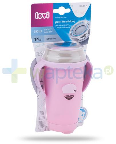 Lovi Retro Baby 360°  kubek dla dzieci 14m+ 350 ml [1/595_new]