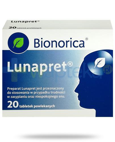 Lunapret 20 tabletek