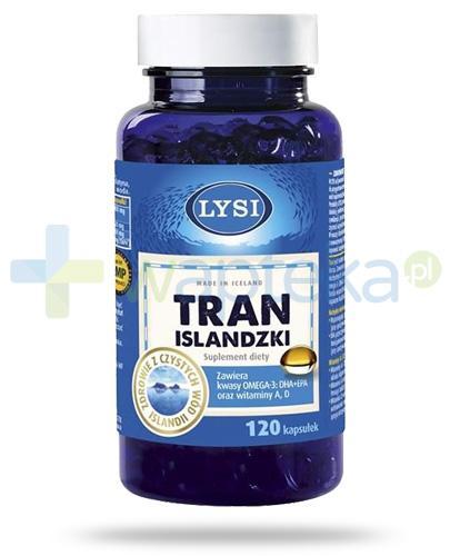 LYSI Tran Islandzki 120 kapsułek