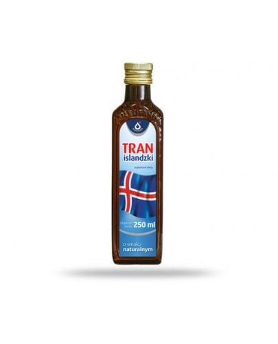 Tran islandzki o smaku naturalnym 250 ml
