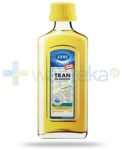LYSI Tran Islandzki smak cytrynowo-miętowy 240 ml